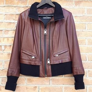 2 Way Leather Jacket